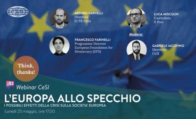 L'Europa allo specchio: i possibili effetti della crisi sulla società europea