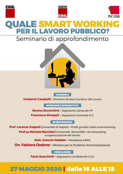Quale smartworking per il lavoro pubblico?
