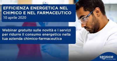 L'efficienza energetica nel chimico e nel farmaceutico