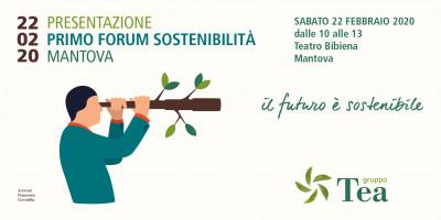 Presentazione Primo Forum Sostenibilità