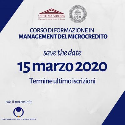 Corso di formazione in management del microcredito
