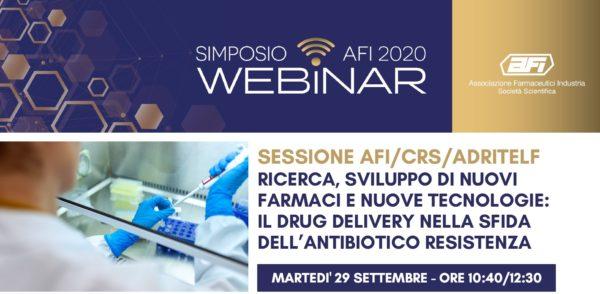 Ricerca, sviluppo di nuovi farmaci e nuove tecnologie: il drug delivery nella sfida dell'antibiotico resistenza